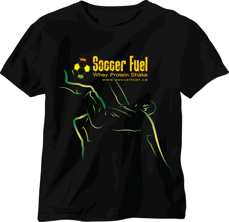 soccer attractive shirt