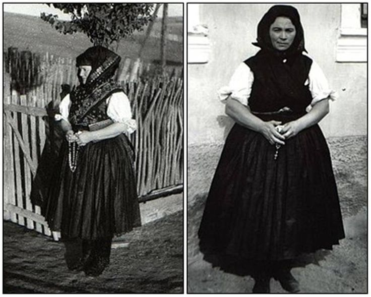 """A két háború között a Nógrád megyei Kazáron és Maconkán """"Kossuth-gyász"""" néven általánossá vált az ünnepnapokon is használt ugynevezett """"félgyászos"""" öltözet."""
