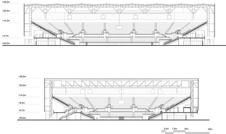 Gallery of Rio 2016 Olympic Handball Arena / Lopes Santos e Ferreira Gomes Arquitetos + OA | Oficina de Arquitetos - 14
