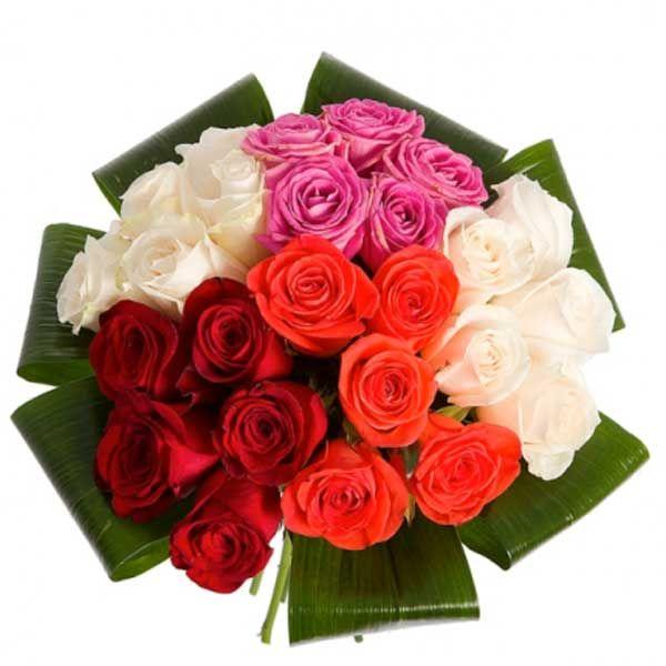 Артикул: 035-196 Состав букета: 25 роз красного, белого, розового и кораллового цвета, декоративная зелень, оформление Размер: Высота букета 50 см Роза: Выращенная в Украине http://rose.org.ua/bukety-iz-roz/1383-25-raznotsvetnyx-roz.html #букеты #букетроз #доставкацветов #RoseLife #flowers #SendFlowers #купитьрозы #заказатьрозы   #розыпоштучно #доставкацветовкиев #доставкацветовукраина #срочнаядоставка #заказатьрозыкиев