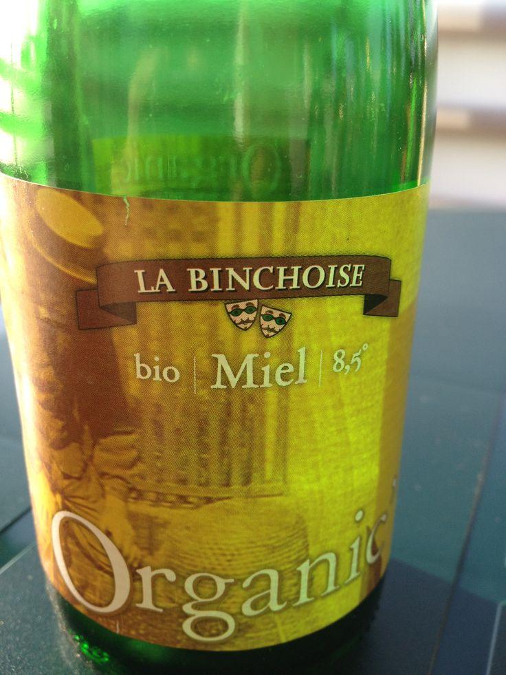 La Binchoise Organic' Bio Miel  Brewed by Brasserie La Binchoise Style: Belgian Strong Ale Binche, Belgium