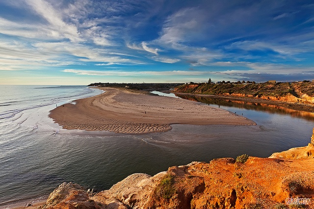 Onkaparinga River, Port Noarlunga, Adelaide, South Australia