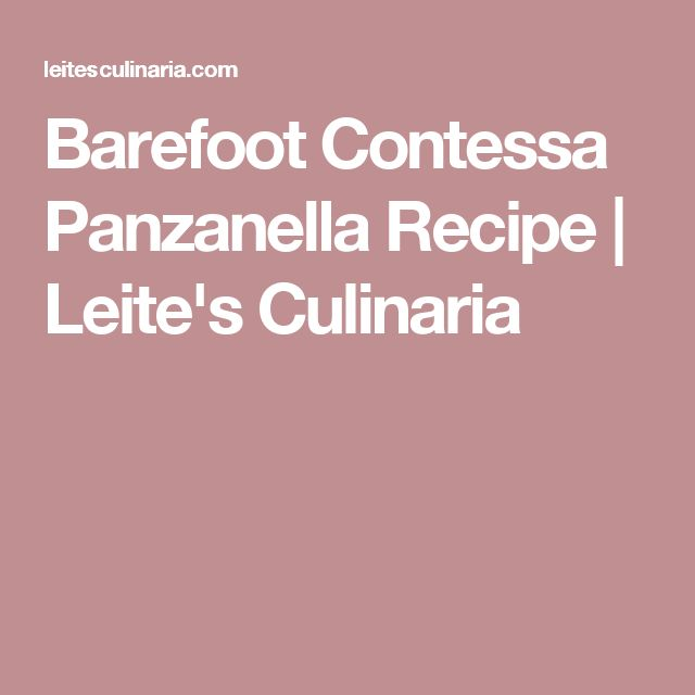 the 25+ best panzanella recipe ideas on pinterest | what