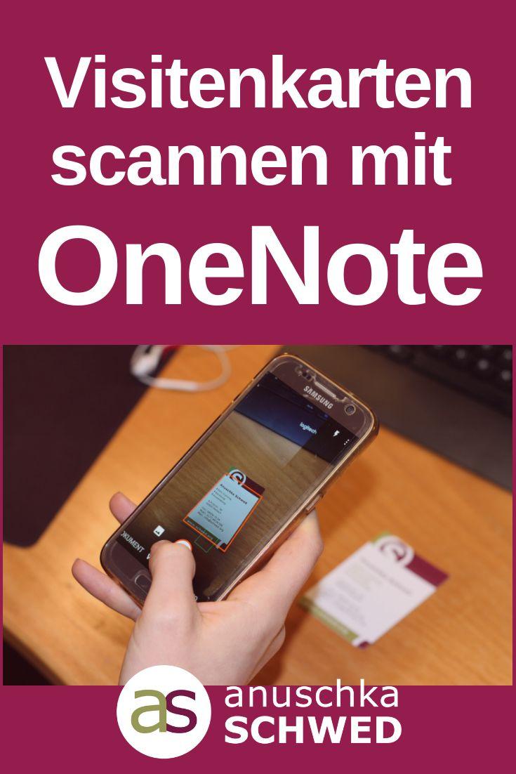 Onenote Und Dein Smartphone Sind Ein Unschlagbares Team Wenn Es Darum Geht Dokumente Visitenkarten Visitenkarten Kostenlos Visitenkarten Coole Visitenkarten