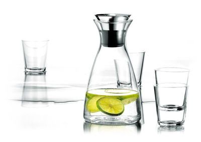 Caraffa set da 1 caraffa antigoccia + 2 bicchieri - Eva Solo
