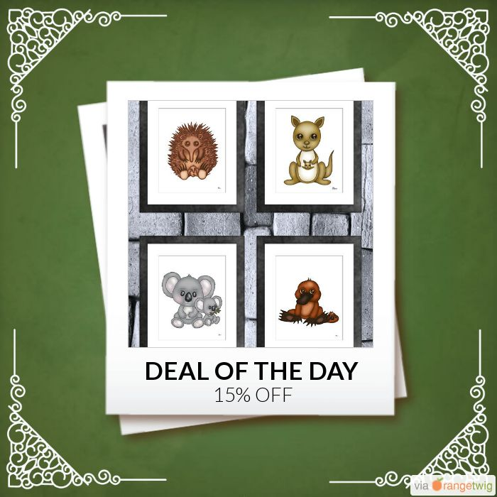 Today Only! 15% OFF this item.  Follow us on Pinterest to be the first to see our exciting Daily Deals. Today's Product: Sale -  Australian Animals Nursery Print Set of 4 Buy now: https://small.bz/AAgPcDK #etsy #etsyseller #etsyshop #etsylove #etsyfinds #etsygifts #musthave #loveit #instacool #shop #shopping #onlineshopping #instashop #instagood #instafollow #photooftheday #picoftheday #love #OTstores #smallbiz #sale #dailydeal #dealoftheday #todayonly #instadaily #instasale…