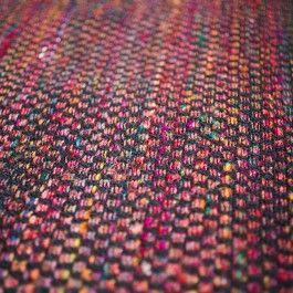Kilim em algodão e seda de Sari.