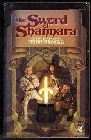 The Sword of Shannara (The Original Shannara Trilogy #1) This is the first in a lengthy series.  My non-reading boys liked the series and could hardly wait till the next book was published.