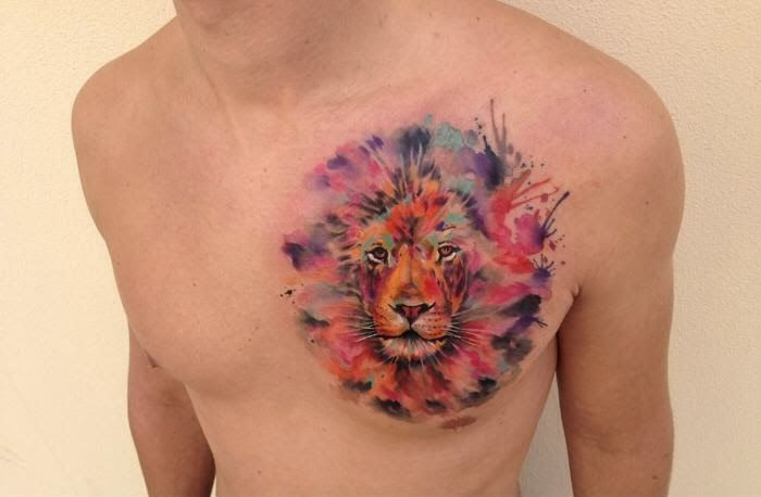 tattoo acuarela cicatriz - Buscar con Google