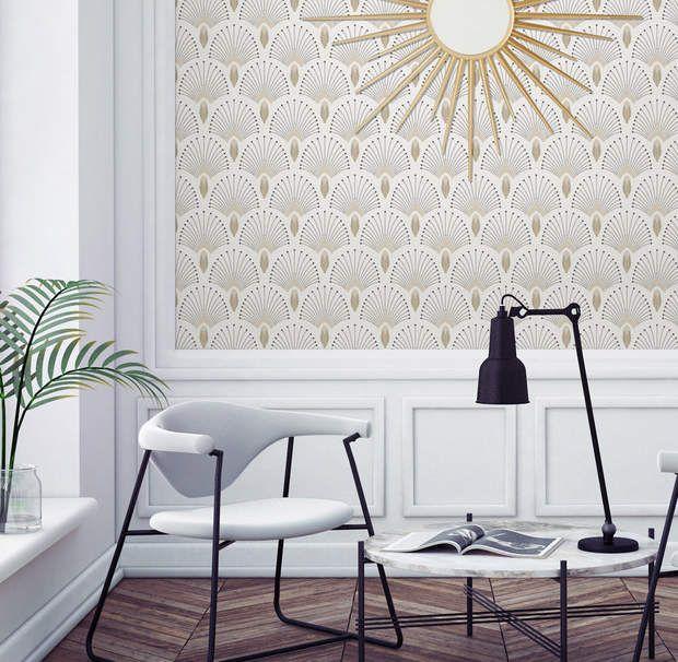 17 meilleures id es propos de papier peint menthe sur - Deco papier peint moderneidees tres creatives ...