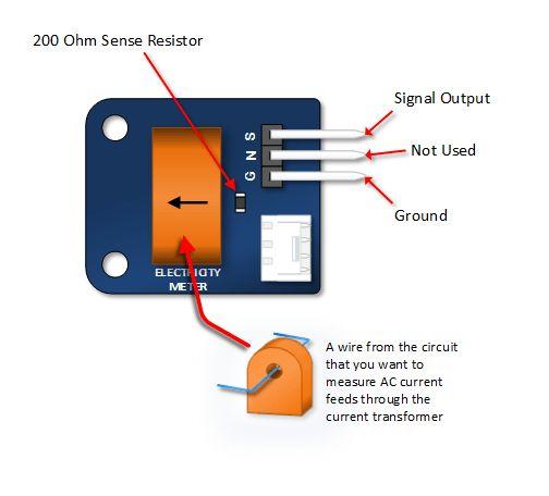 TA12-100 Arduino AC Current Sensor Tutorial | Arduino | Arduino