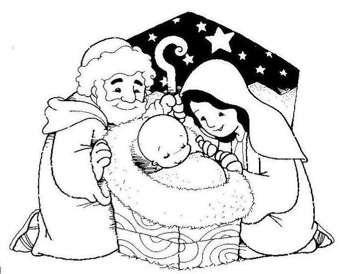 menta ms chocolate recursos para educacin infantil dibujos para colorear de pesebres