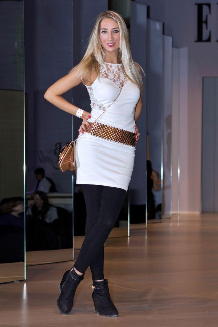 Vivi on stage - Elle Fashion Show 2014 http://www.budapestwithus.hu/elle-fashion-show-2014/