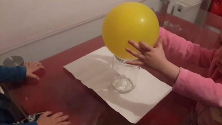 Malzemeler: Balon Kavanoz Kibrit Yaş: + 4 Yaş Kazanımlar: Deney ve Gözlem Becerisi Neden-Sonuç İlişkisi Kurma Bilimsel Beceriler Kavram Bilgisi (Dil Gelişimi)  Çocuklar dünyayı ta…