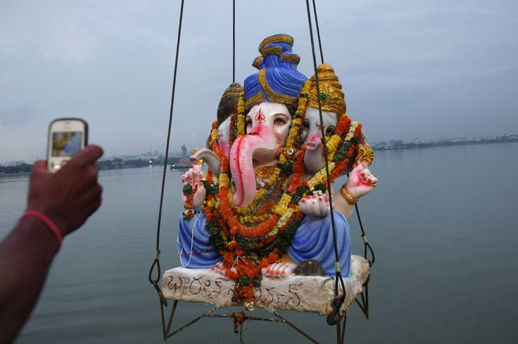 Ganesh Chaturthi festival: Hindus celebrate throughout India