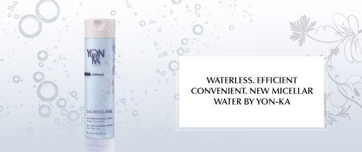 Für alle, die eine Gesichtsreinigung ohne Wasser bevorzugen: Das Mizellarwasser Yon-Ka Eau Micellaire.  Reinigun, Pflege und Anti-Aging in Einem. Mehr Informationen und deutschlandweiter über www.youthful-institut.de/shop