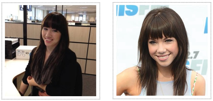 Separated at birth? We think our very own SEEK Learning consultant Rachel B looks an awful lot like Carly Rae. If you want to chat beauty courses, then call her (maybe)