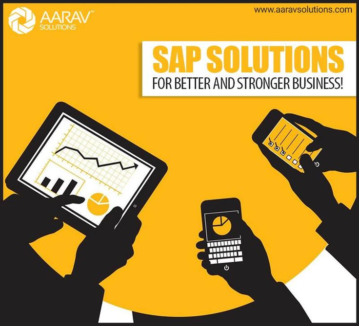 With #SAP #services from #AaravSolutions, we bring advance level of #business #services ensuring rock solid foundation, business steadiness and better business value. Come and rediscover your business using our state of the art technology assistance. www.aaravsolutions.com