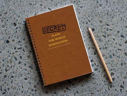 Secret Plans for World Domination