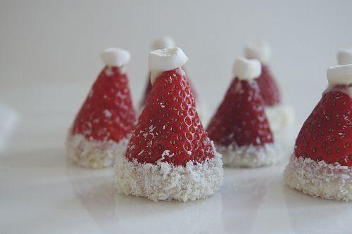 Santa hats - definitely making these :)