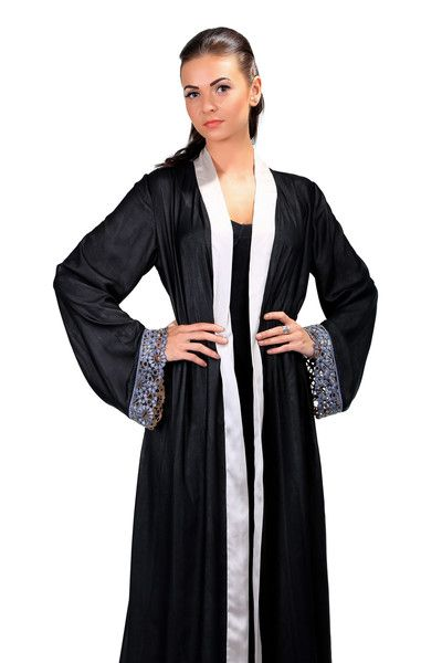 Designer Abaya at www.hautearabia.com Buy now! :) #abaya #pardah #hijab