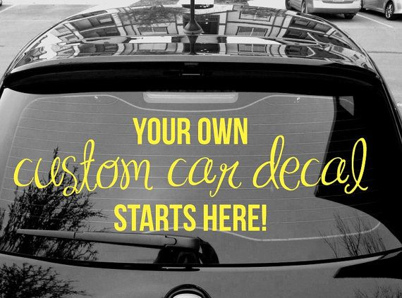 Unique Custom Car Decals Ideas On Pinterest Custom Car Vinyl - Custom design car decals free