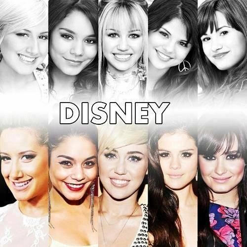 Then  Now Disney Channel Stars most of them turned out pretty except for MILEY