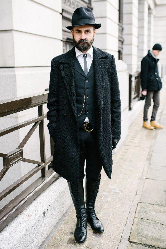 Dapper Victorian Gentleman Style Vintage Edwardian