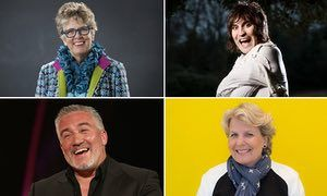 Noel Fielding and Sandi Toksvig (right) will join judges Prue Leith and Paul Hollywood on the Channel 4 show.