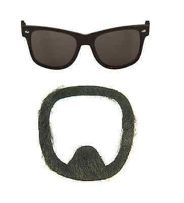 Fancy dress costume set #moustache + #glasses stag #hallloween tv cook ali g,  View more on the LINK: http://www.zeppy.io/product/gb/2/321744896062/