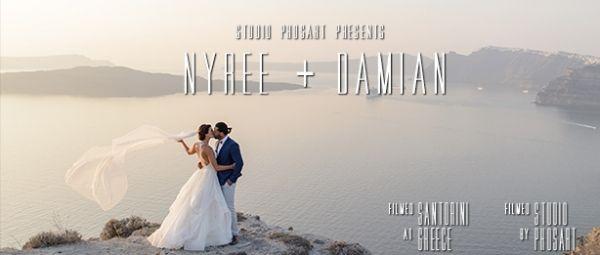Dreamy Destination Wedding at Dana Villas. See their amazing wedding video here: http://photographergreece.com/el/cinematography/wedding-films/855-dreamy-wedding-at-dana-villas