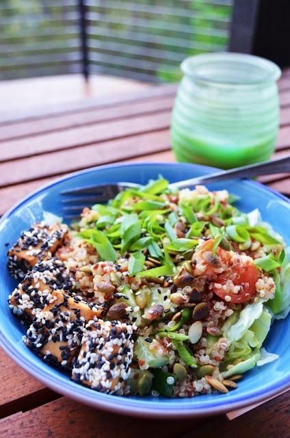... Salads on Pinterest | Tofu Lettuce Wraps, Salads and Chickpea Salad