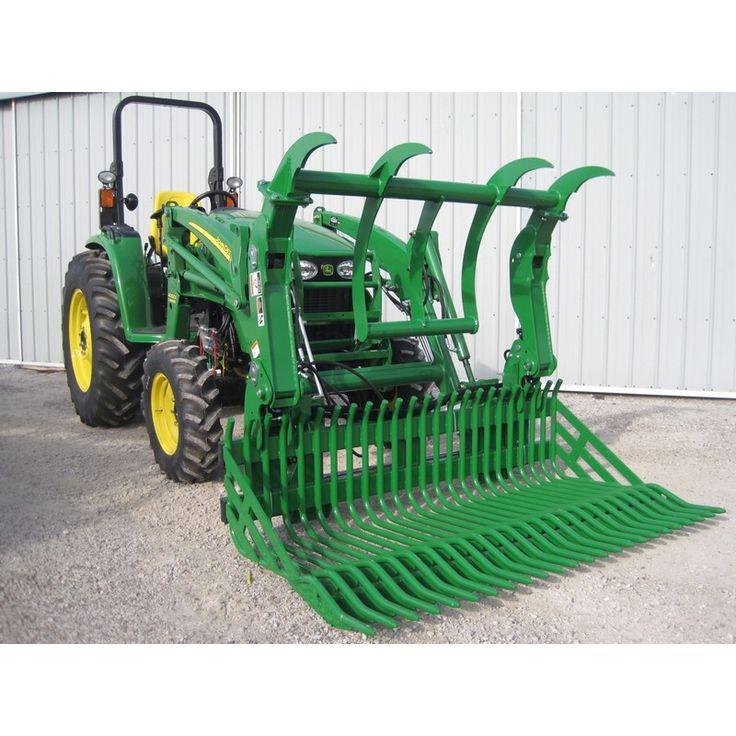 John Deere Bucket Attachments : De bästa john deere tractor attachments bilderna på