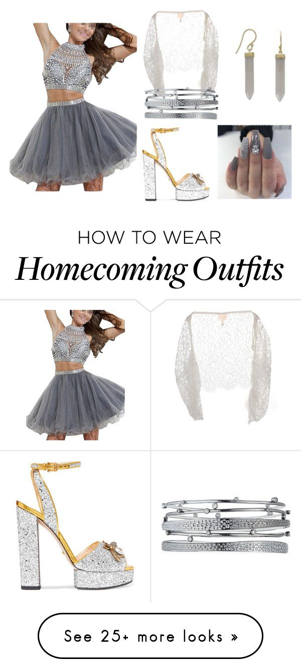 """Homecoming Queen <3"" by ceelsasser on Polyvore featuring Gucci and Kendra Scott"