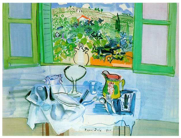 Raoul Dufy - 拉烏爾杜菲是法國藝術家和設計師,(第一輯)。。。 - ☆平平.淡淡.也是真☆  - ☆☆。 平平。淡淡。也是真。☆☆ 。