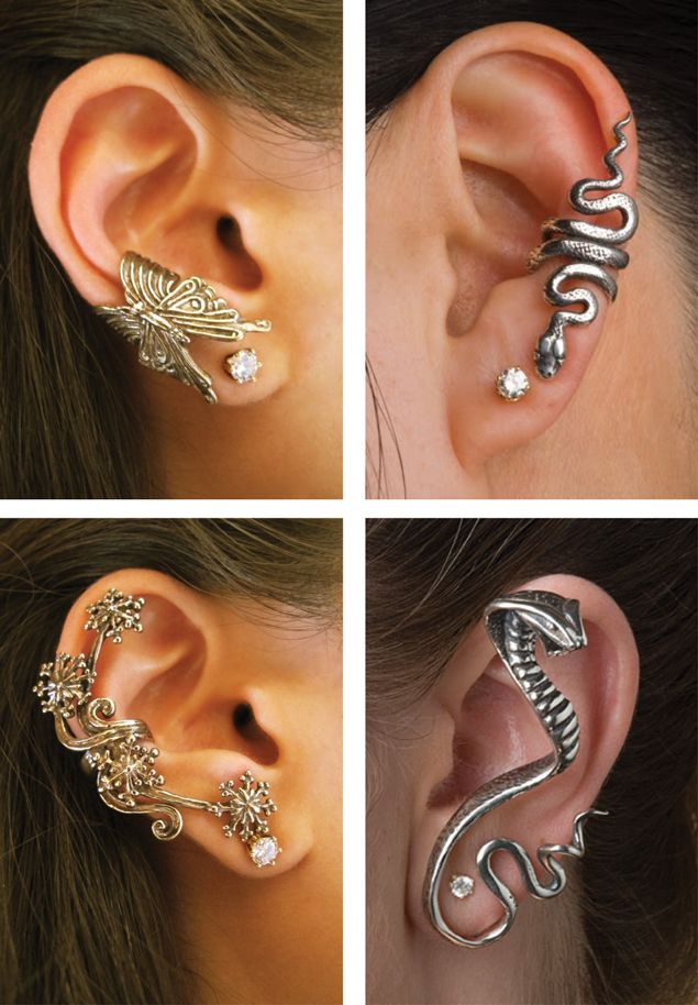 So cool....but i'm confused if your ears have to be pierced for them?
