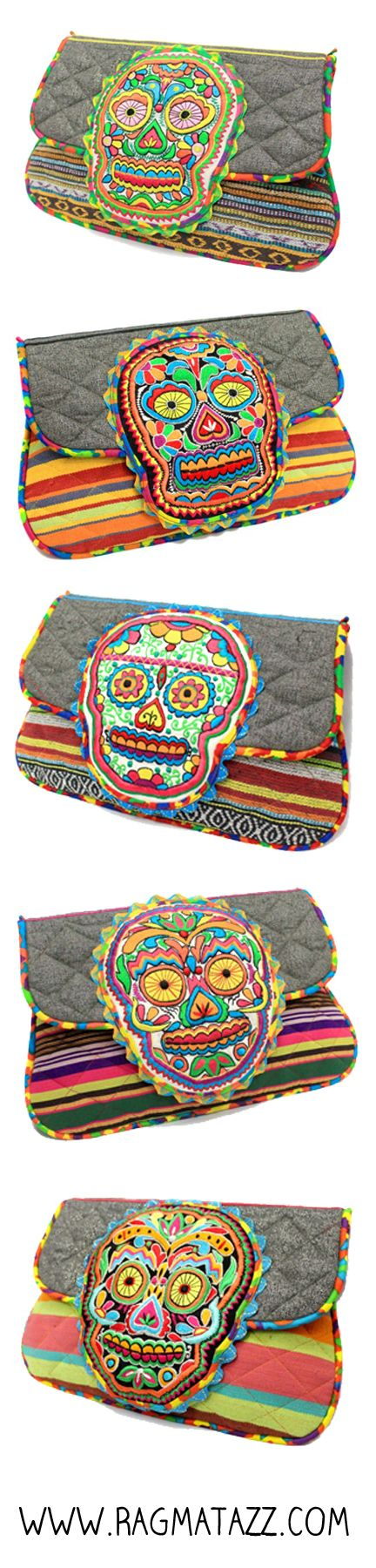 Sugar Skull Collection by Ragmatazz. Shop here: http://ragmatazz.myshopify.com/collections/all/sugar-skull-collection