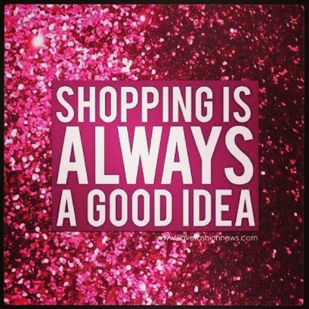 Especially if it's for shoes, handbags, clothes, nail polish, jewelry.... ;)