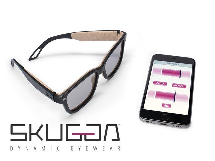 SKUGGA: Sunglasses with Variable Electronic Tint Control miniatura de video del proyecto
