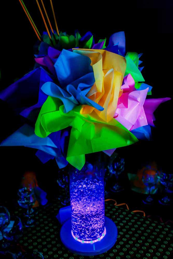 centros de mesas neon - Buscar con Google