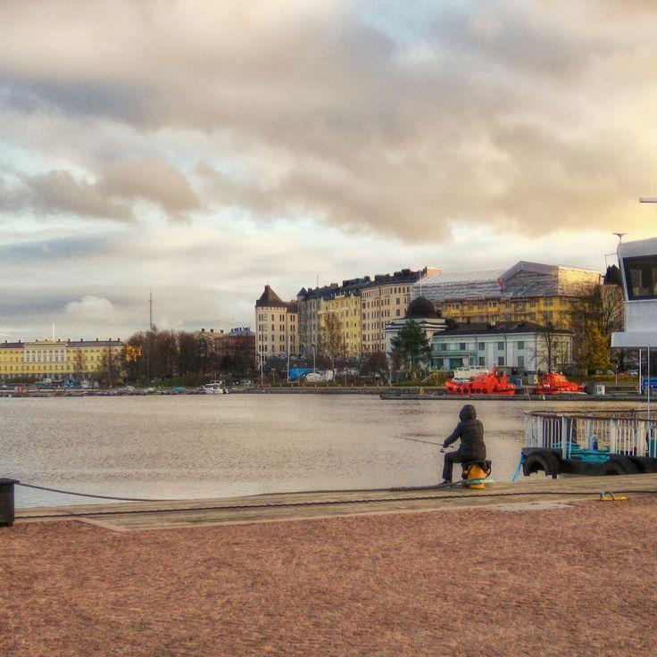 Fishing - Kruunuhaka, Helsinki, Finland - null