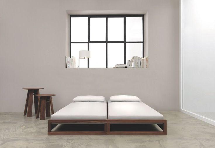 Convertible wooden bed GUEST - ZEITRAUM