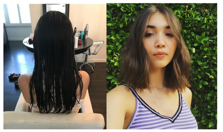 This effortless razor cut is perfect for the end of summer and back to school. Get a new look like actress Rowan Blanchard's new summer hairstyle.
