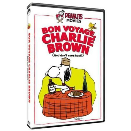 Peanut's Movies: Bon Voyage, Charlie Brown (And Don't Come Back!) - Walmart.com