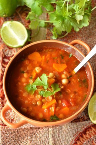 Zdjęcie: Harira - wegańska zupa z  Maroka