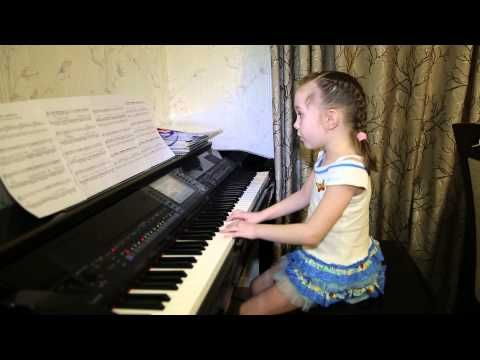 Она вернется. Дети поют.  Виктория Викторовна 6 лет.