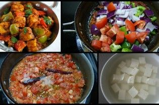 This mother's day surprise your mother  with a hand cooked dish. If you need a quick but irresistible recipe to satiate your hunger pangs , try this dish of cubed paneer combined with some veggies! The aroma of spices cooking in simmering tomatoes is an unmistakable signature of this dish! Ingredients Paneer – 1 packet (14 oz or 396 gms)...  Read More