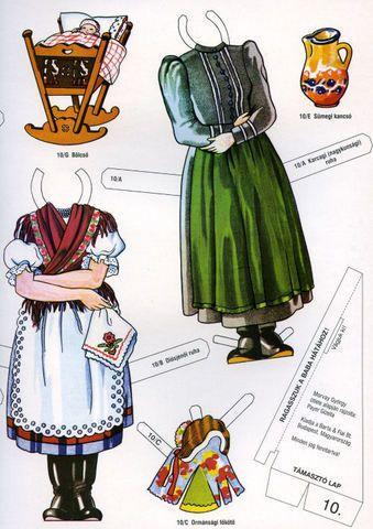 PAR AMOUR DES POUPEES :: Poupées folkloriques hongroises
