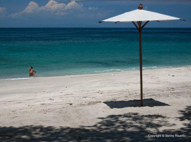 Virgin Beach aka White Sand Beach aka Pasir Putih, Prasi Village-Karangasem, East Bali, Indonesia http://www.beeamazing.com/my-5-favorite-beaches-in-bali/
