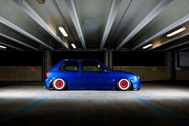 Ford Fiesta MK4 Slammed